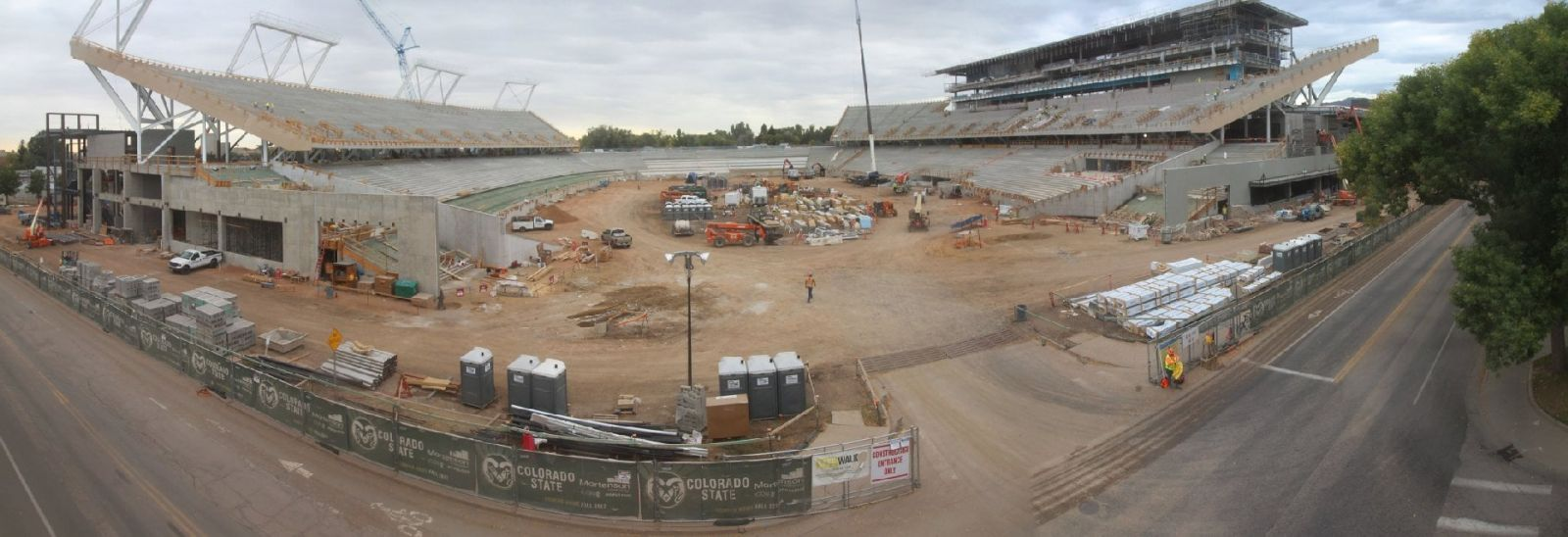 Colorado State University Stadium - Panorama