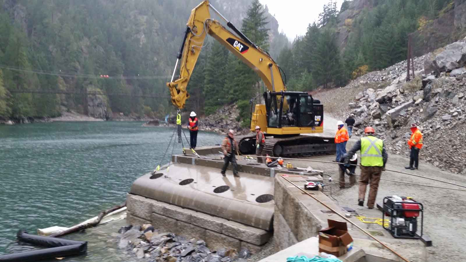 Ross Rock Slide Barge Landing - 001