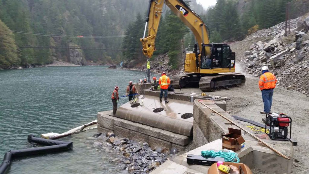 Ross Rock Slide Barge Landing - 004